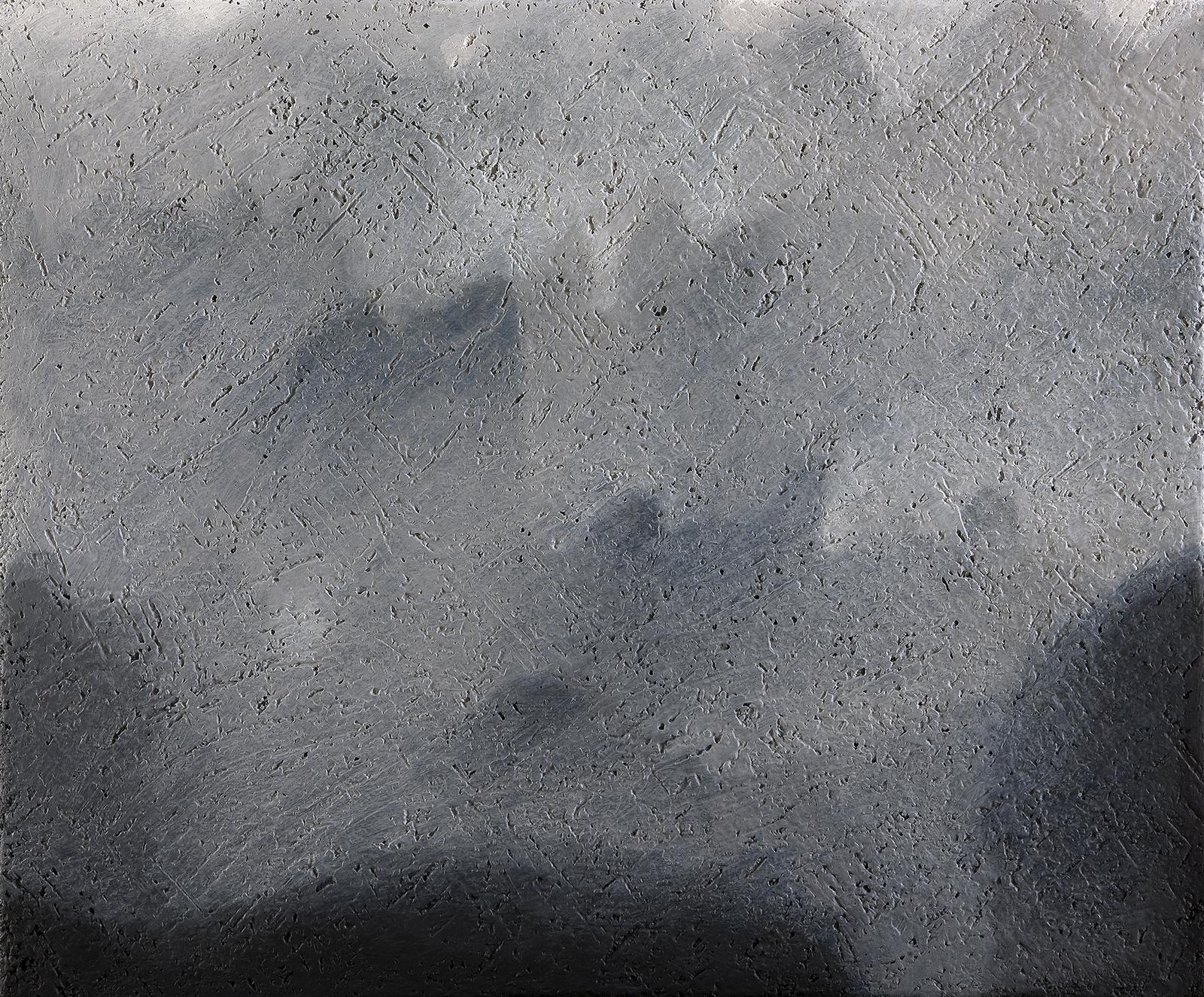 Destinazione provvisoria, 2008 acrilico e olio su tela 50 x 60 cm