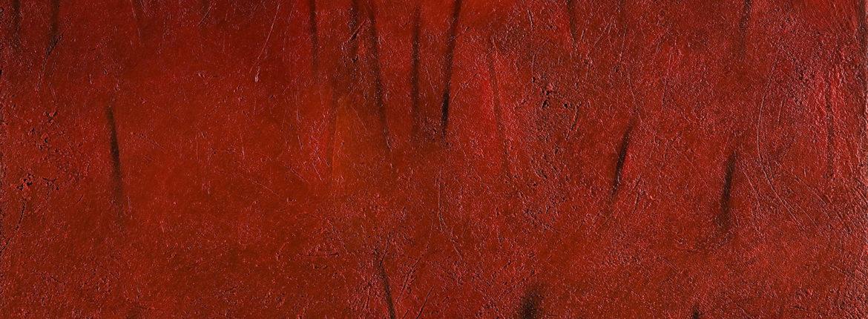 Segni segreti, 2006 acrilico e olio su tela 100 x 120 cm