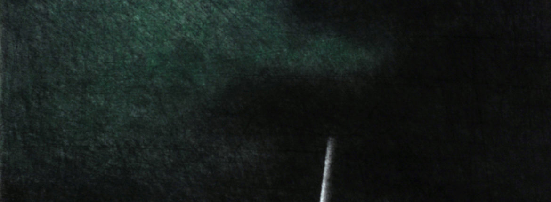 Appunti notturni, pastello su cartoncino, 510 x 365 mm