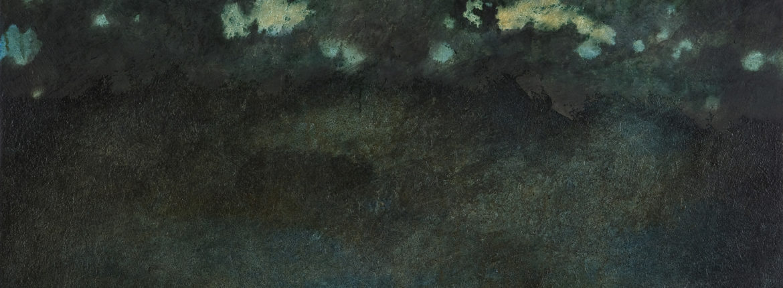 Controluce, 2008 acrilico e olio su tela 115 x 150 cm