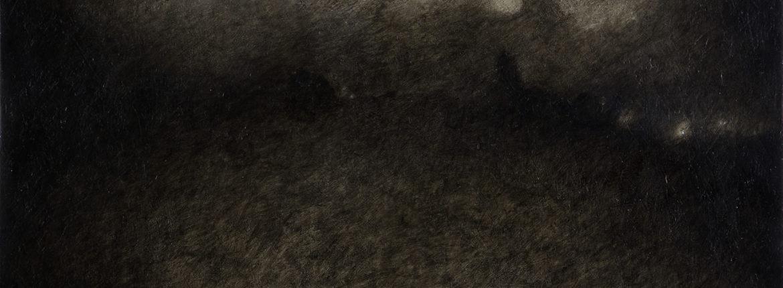 Destinazione, 2008, acrilico e olio su tela 100 x 120 cm