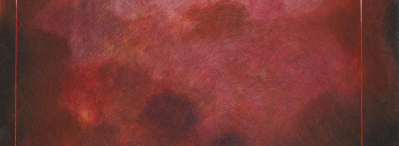 Dietro il paesaggio olio su tela 2015 cm 70x80