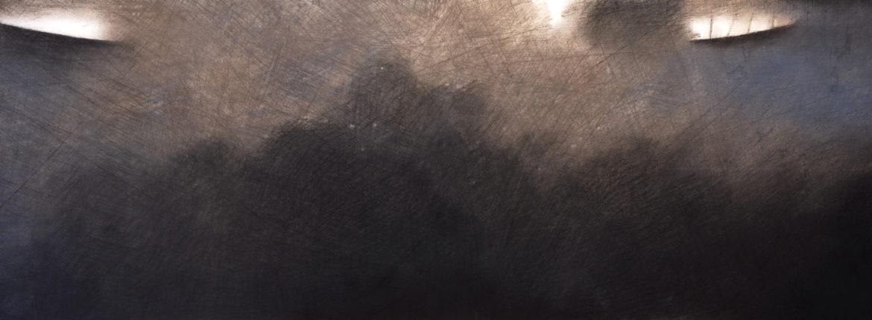 Distanza, 1998, Pastello su cartoncino, 250 x 700 mm.