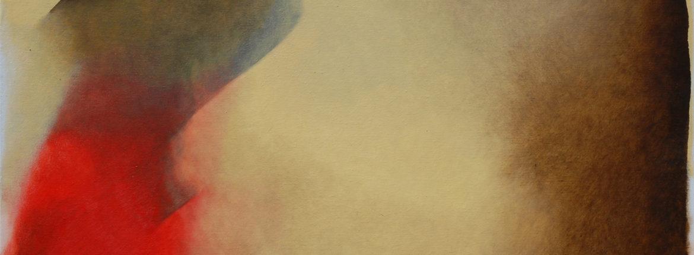 """Il cappello, da """"IL soldato e la fanciulla che ride"""" di Vermeer.2013 cm. 80x100tif"""