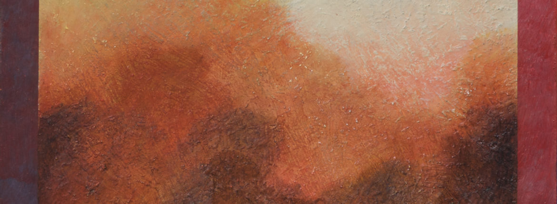 Inquadratura 2015 olio su tela cm 70x60