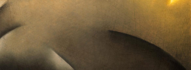 Interno con lumi, 1997, pastello su cartoncino, 365 x 510 mm.