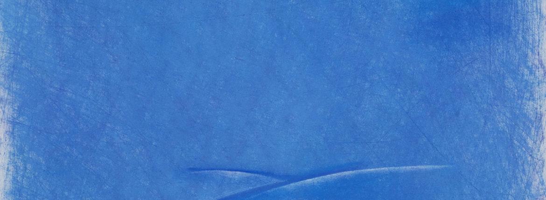 Mare verticale 1, 2010, pastello su cartoncino, cm. 51 x 36,5