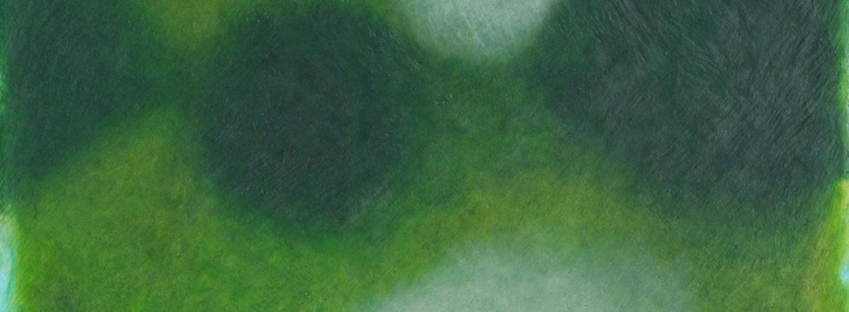 Oltre 2014 olio su tela 100x100 cm