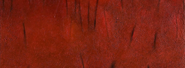 _Segni segreti, 2006 acrilico e olio su tela 100 x 120 cm