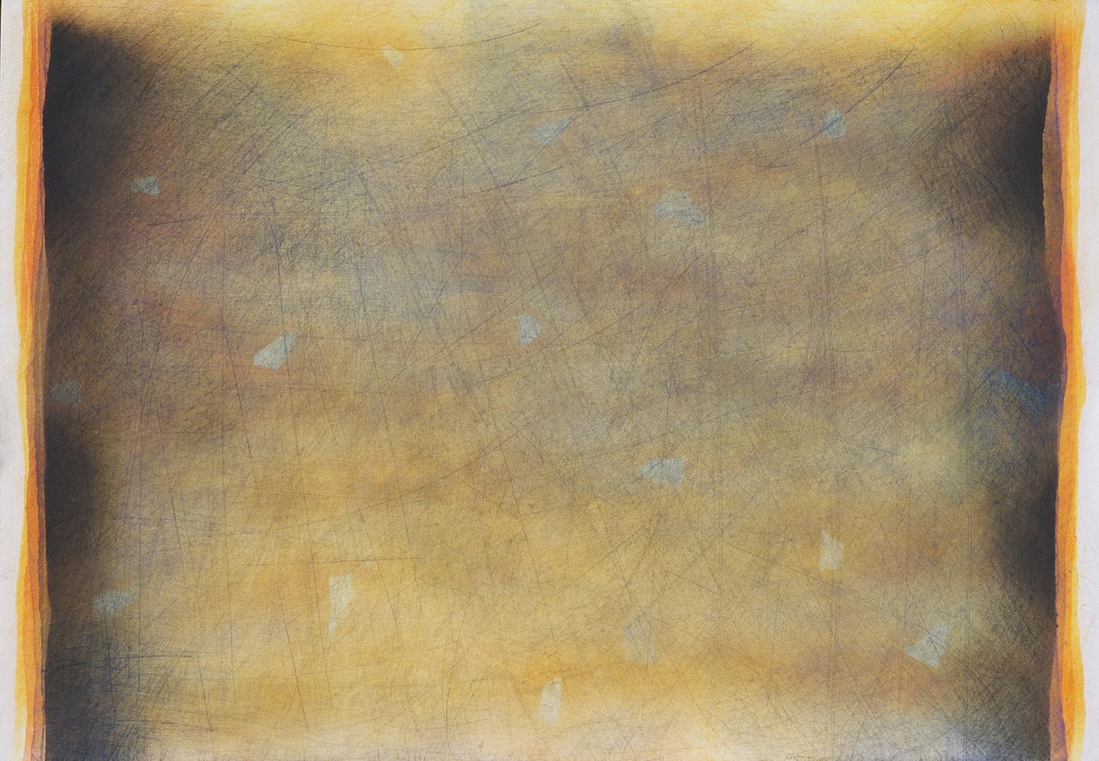 Sentire 1, 2011, pastello su cartoncino, cm. 51 x 73