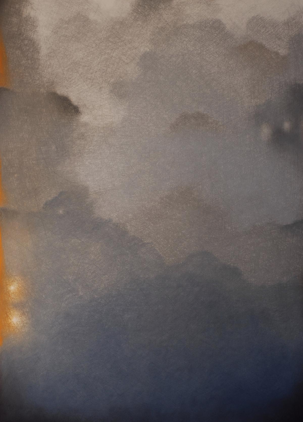 Un attimo,2008,Pastello su carton.,1020 x 730 mm.