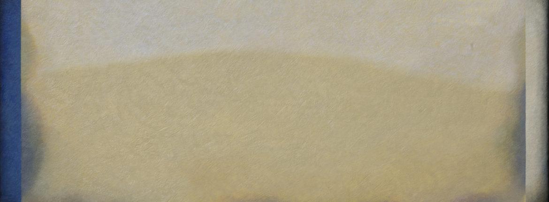 Un lontano presente 2016 olio su tela cm 100x190